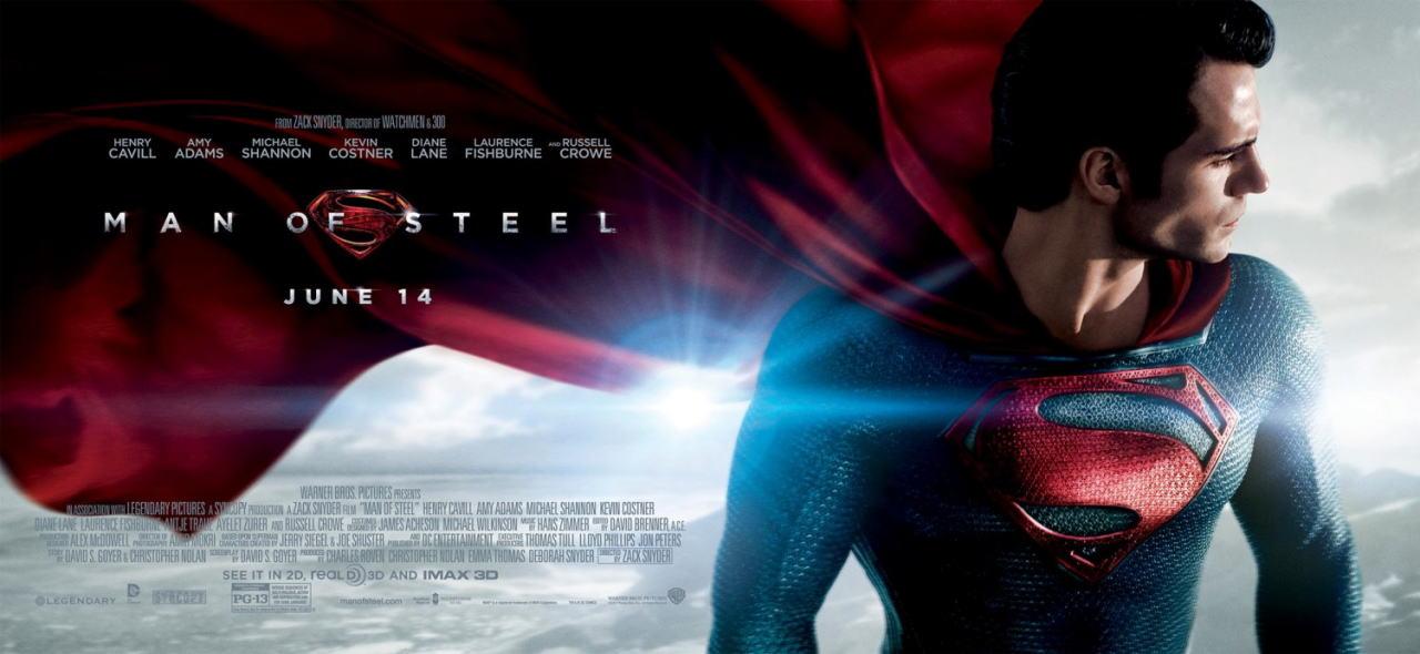 映画『マン・オブ・スティール (2013) MAN OF STEEL』ポスター(6) ▼ポスター画像クリックで拡大します。