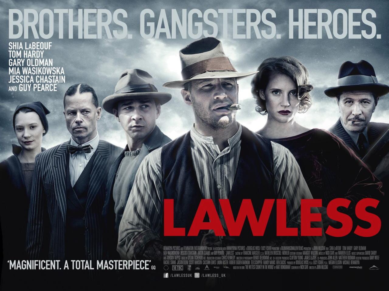 映画『欲望のバージニア (2012) LAWLESS』ポスター(4) ▼ポスター画像クリックで拡大します。