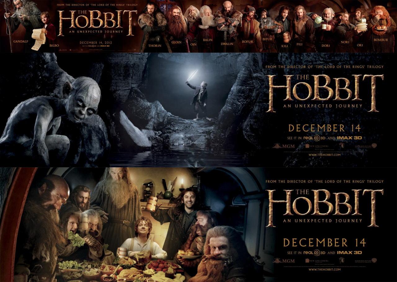 映画『ホビット 思いがけない冒険 THE HOBBIT: AN UNEXPECTED JOURNEY』ポスター(5) ▼ポスター画像クリックで拡大します。