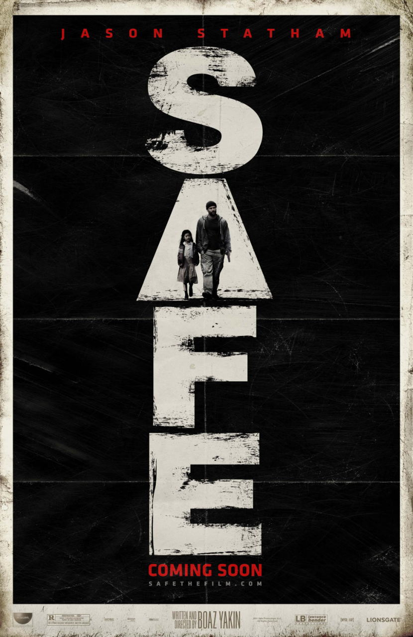 映画『SAFE/セイフ SAFE』ポスター(2) ▼ポスター画像クリックで拡大します。