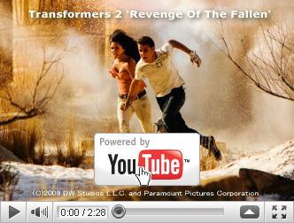 ※クリックでYouTube『トランスフォーマー/リベンジ TRANSFORMERS: REVENGE OF THE FALLEN』予告編へ