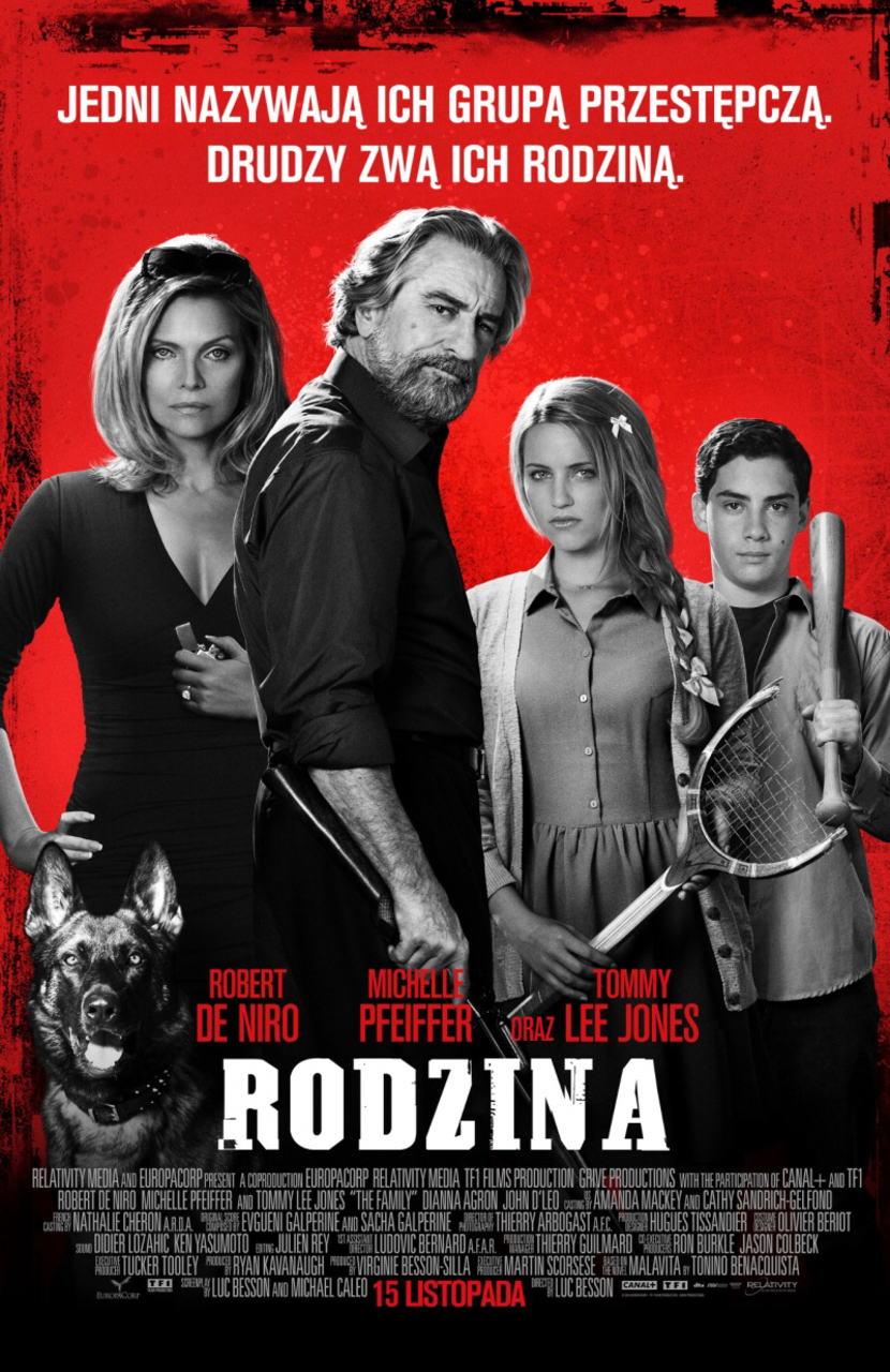 映画『マラヴィータ (2013) THE FAMILY (英題) / MALAVITA (仏題)』ポスター(2)▼ポスター画像クリックで拡大します。
