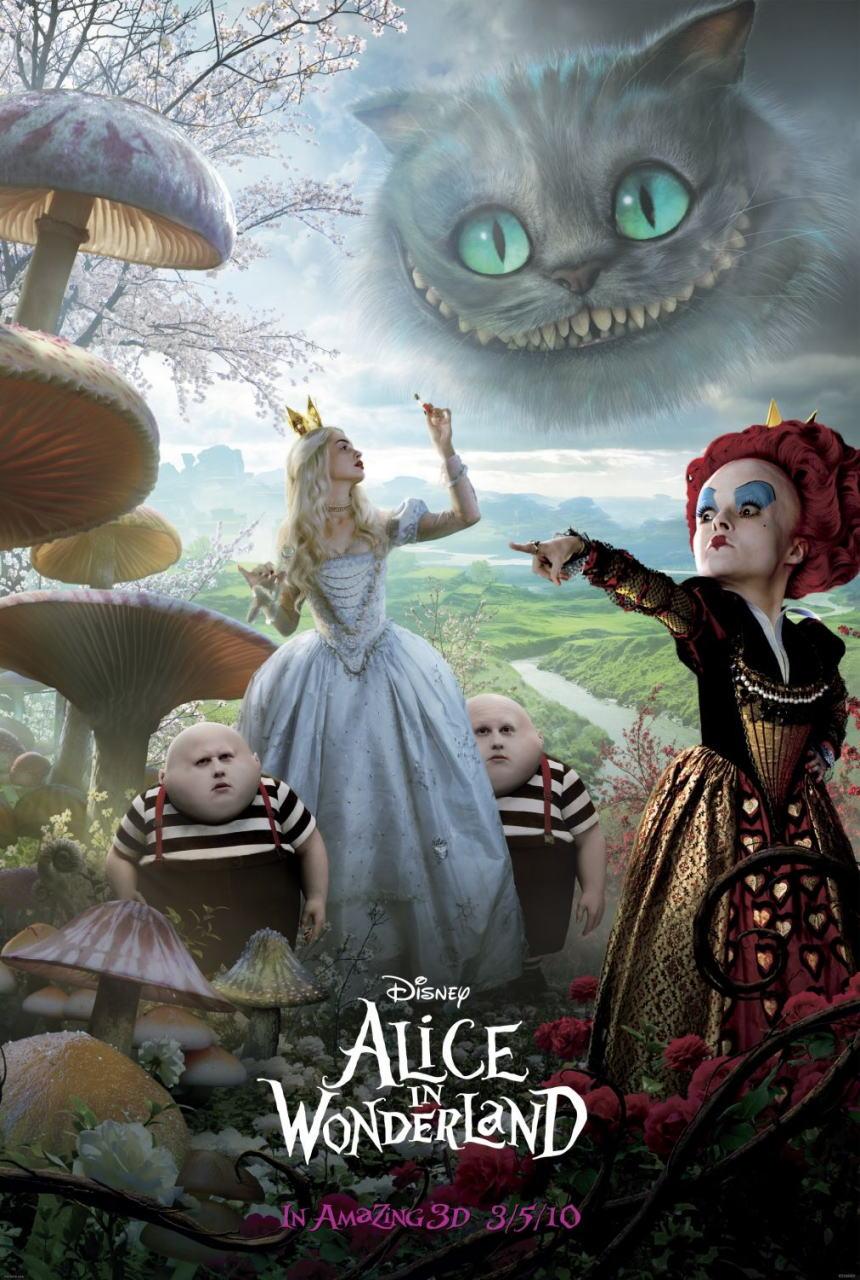 映画『アリス・イン・ワンダーランド ALICE IN WONDERLAND』ポスター(10)