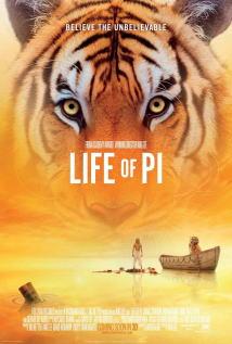 映画『 ライフ・オブ・パイ/トラと漂流した227日 (2012) LIFE OF PI 』ポスター