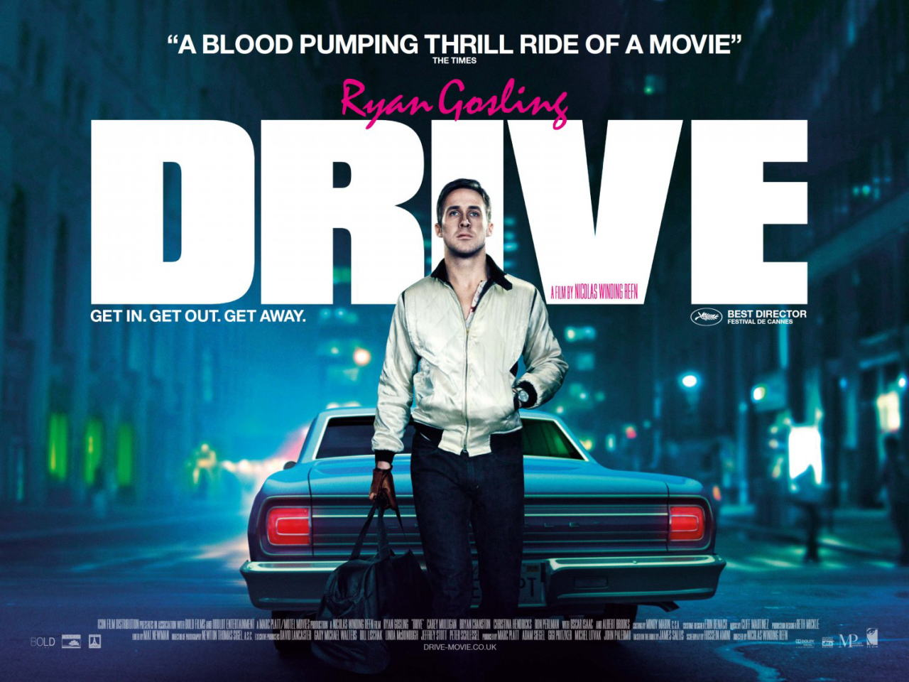 映画『ドライヴ DRIVE』ポスター(3) ▼ポスター画像クリックで拡大します。