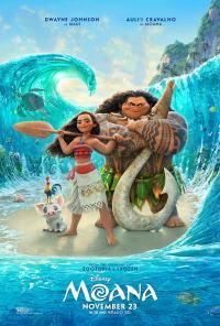 モアナと伝説の海ポスター01画像 ▼画像クリックで拡大します@映画の森てんこ森