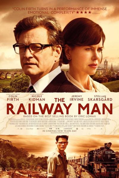 映画『レイルウェイ 運命の旅路 (2013) THE RAILWAY MAN』ポスター(2) ▼ポスター画像クリックで拡大します。