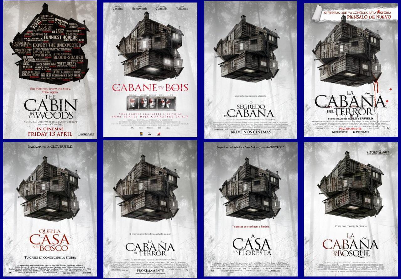 映画『キャビン THE CABIN IN THE WOODS』ポスター(6)▼ポスター画像クリックで拡大します。