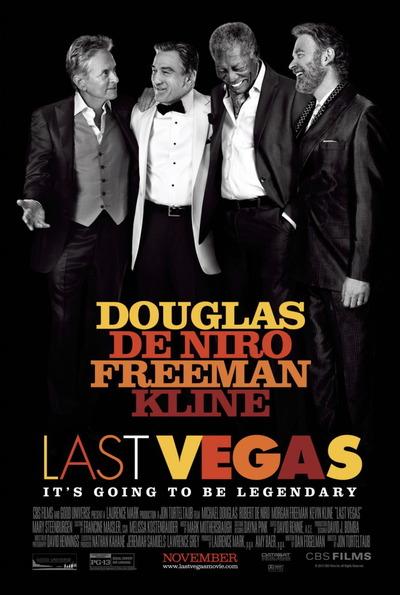 映画『ラスト・ベガス (2013) LAST VEGAS』ポスター(1)▼ポスター画像クリックで拡大します。