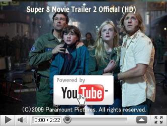 ※クリックでYouTube『SUPER 8/スーパーエイト SUPER 8』予告編へ