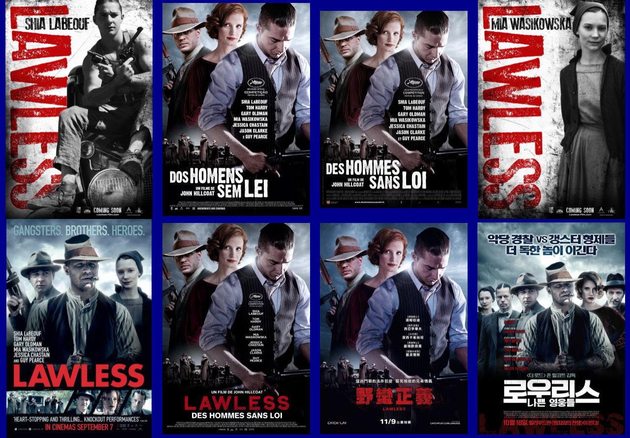 映画『欲望のバージニア (2012) LAWLESS』ポスター(6)▼ポスター画像クリックで拡大します。
