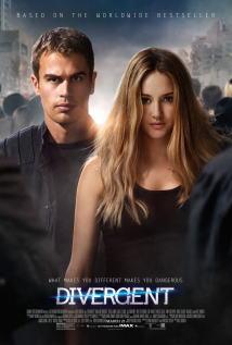 映画『 ダイバージェント (2014) DIVERGENT 』ポスター