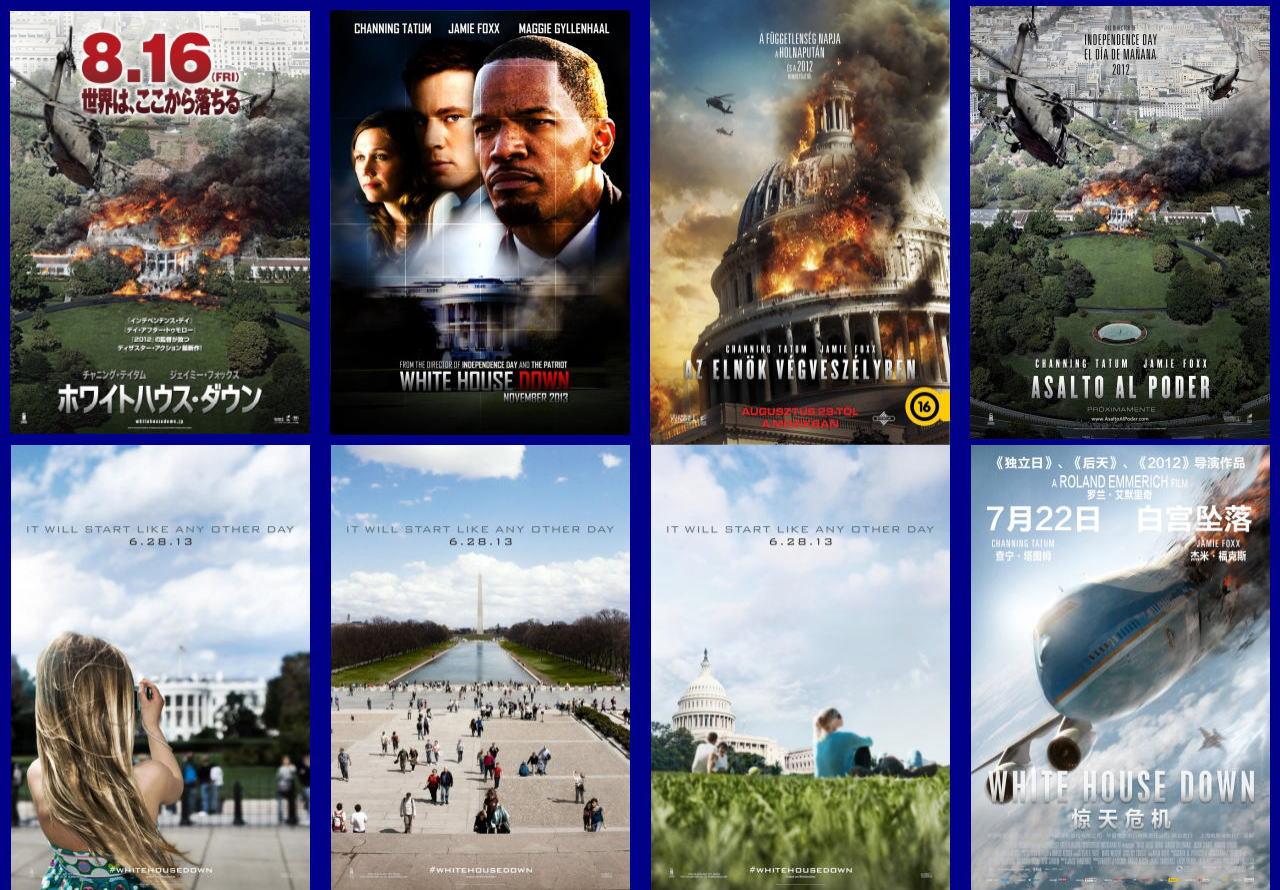 映画『ホワイトハウス・ダウン (2013) WHITE HOUSE DOWN』ポスター(7) ▼ポスター画像クリックで拡大します。