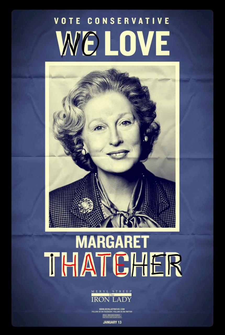 映画『マーガレット・サッチャー 鉄の女の涙 THE IRON LADY』ポスター(7)▼ポスター画像クリックで拡大します。