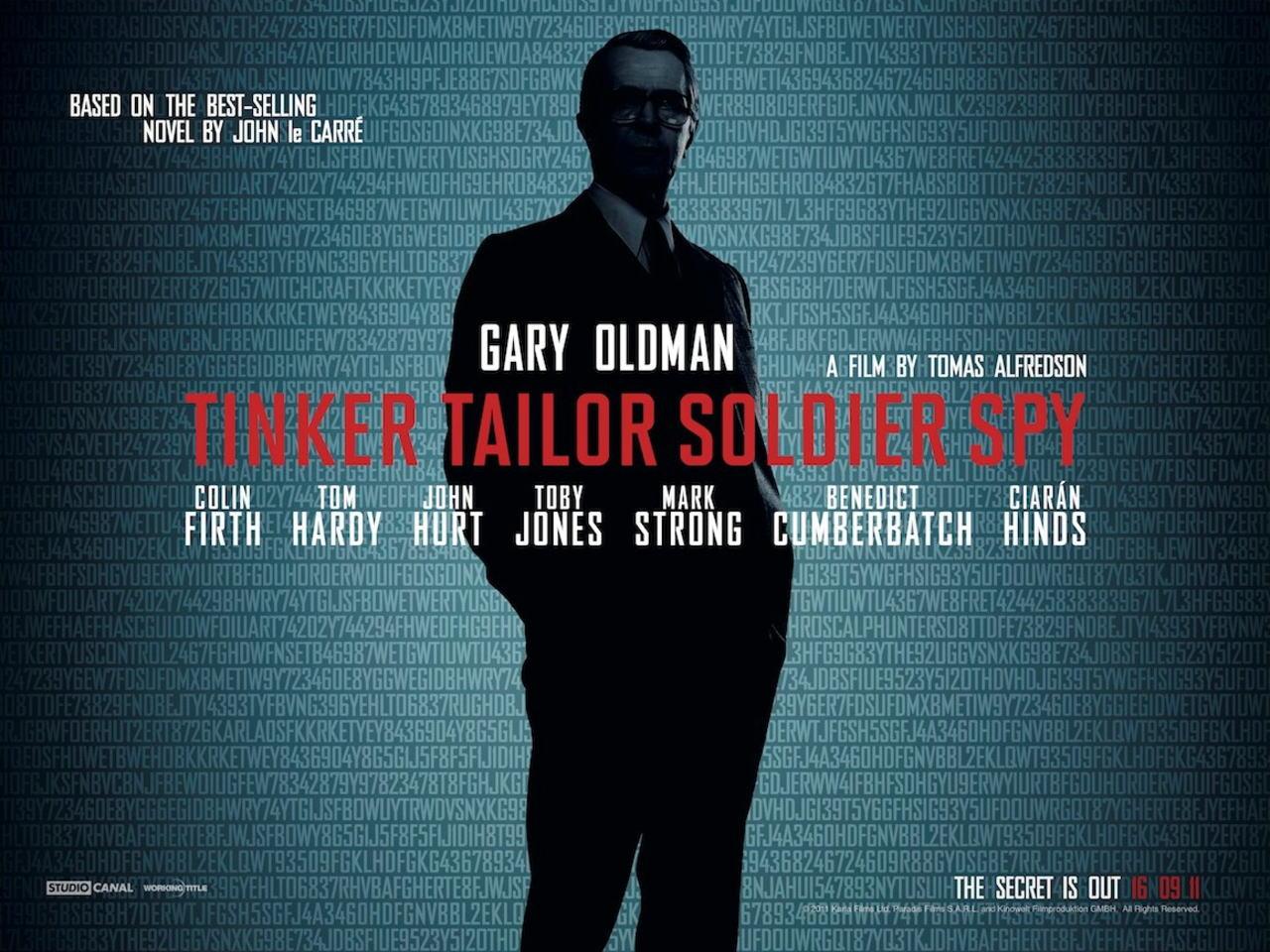 映画『裏切りのサーカス TINKER TAILOR SOLDIER SPY』ポスター(2) ▼ポスター画像クリックで拡大します。