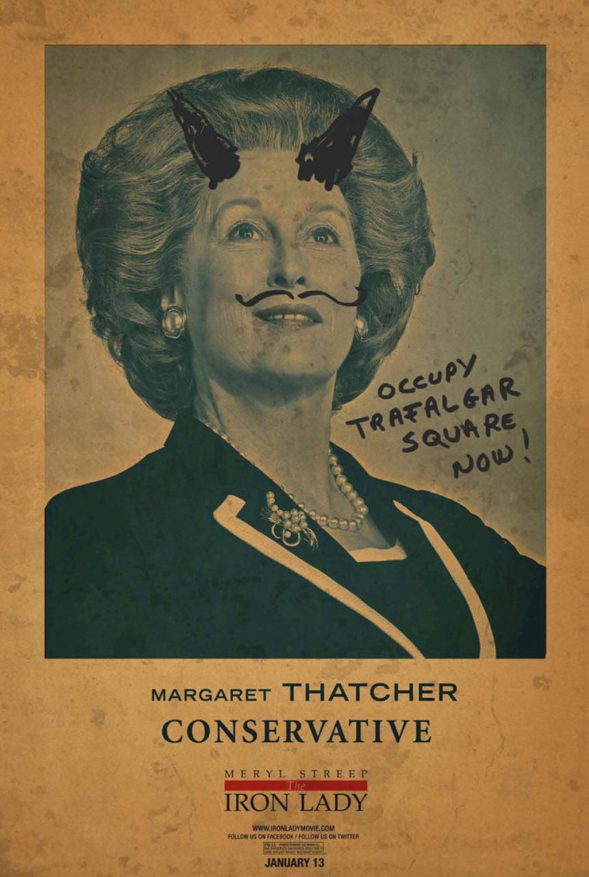 映画『マーガレット・サッチャー 鉄の女の涙 THE IRON LADY』ポスター(3)▼ポスター画像クリックで拡大します。