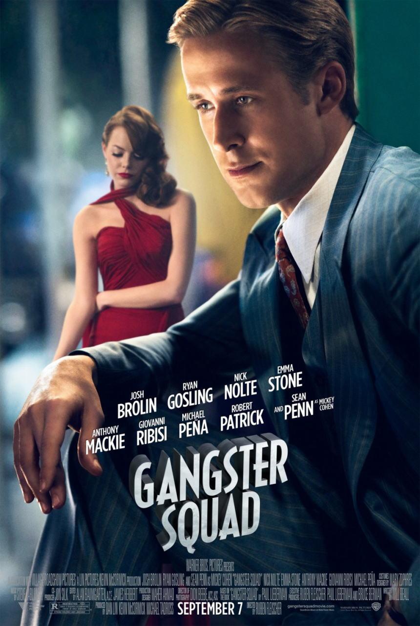 映画『L.A. ギャング ストーリー (2012) GANGSTER SQUAD』ポスター(5) ▼ポスター画像クリックで拡大します。