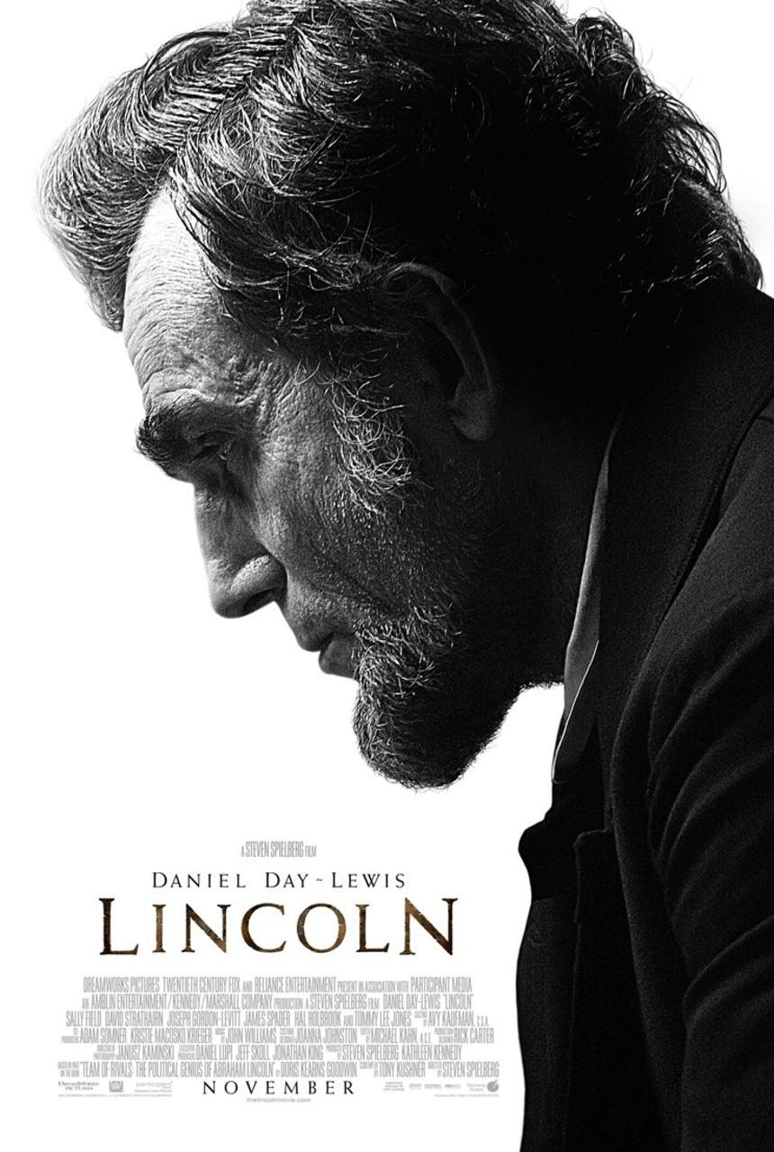 映画『 リンカーン (2012) LINCOLN』ポスター(1)▼ポスター画像クリックで拡大します。