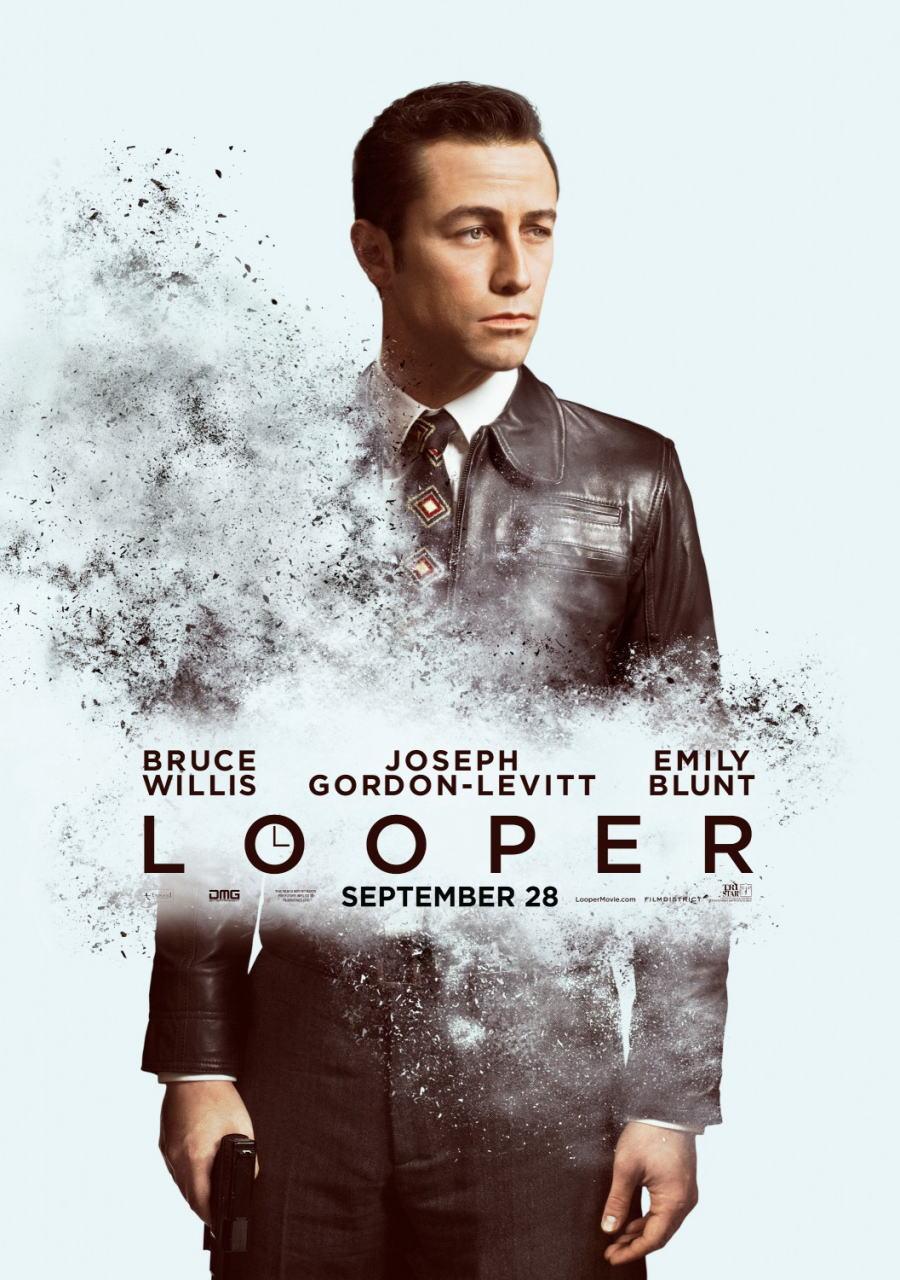 映画『LOOPER/ルーパー LOOPER』ポスター(4)▼ポスター画像クリックで拡大します。