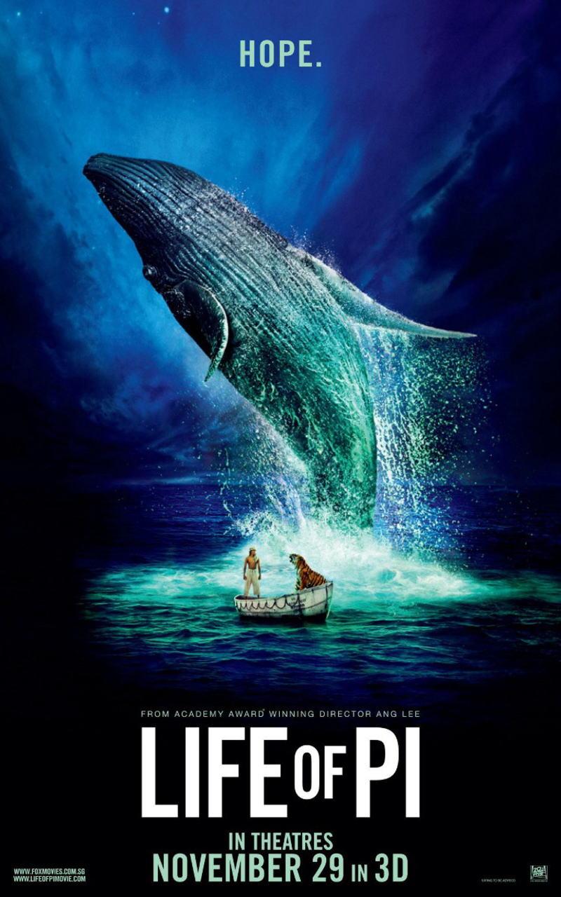 映画『ライフ・オブ・パイ/トラと漂流した227日 (2012) LIFE OF PI』ポスター(5)▼ポスター画像クリックで拡大します。