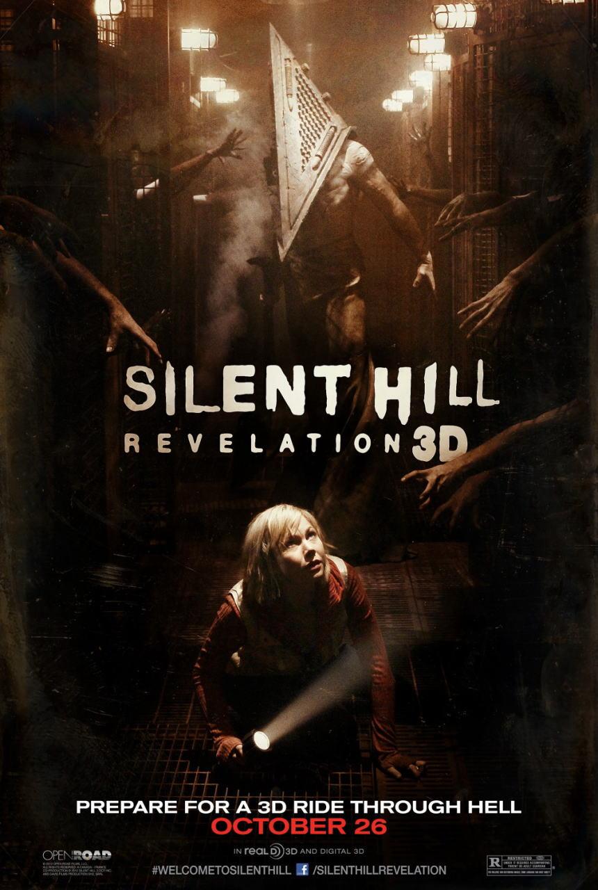 映画『サイレントヒル:リベレーション3D (2012) SILENT HILL: REVELATION 3D』ポスター(2)▼ポスター画像クリックで拡大します。