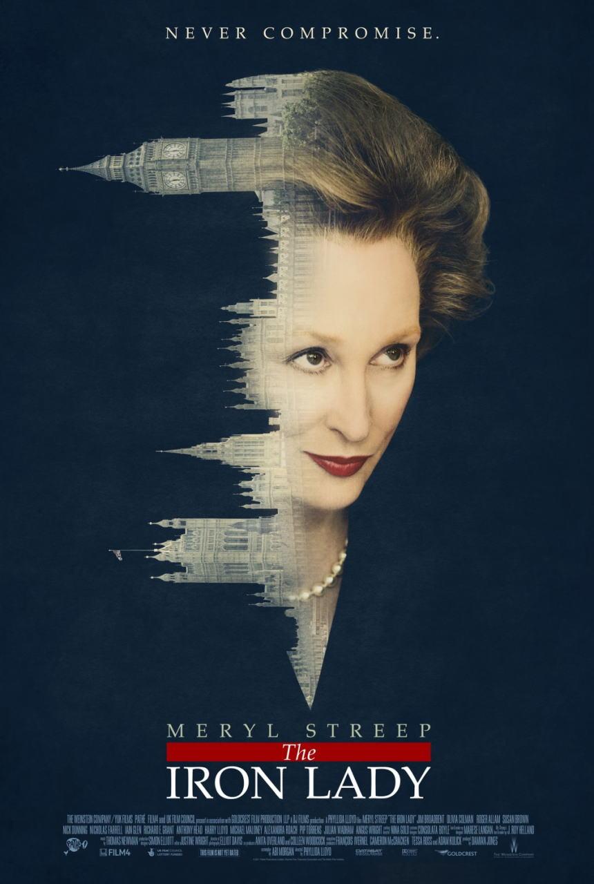 映画『マーガレット・サッチャー 鉄の女の涙 THE IRON LADY』ポスター(2)▼ポスター画像クリックで拡大します。