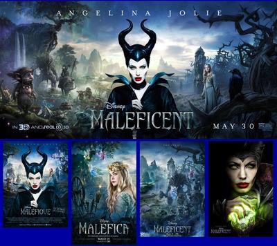 映画『マレフィセント (2014) MALEFICENT』ポスター(5)▼ポスター画像クリックで拡大します。