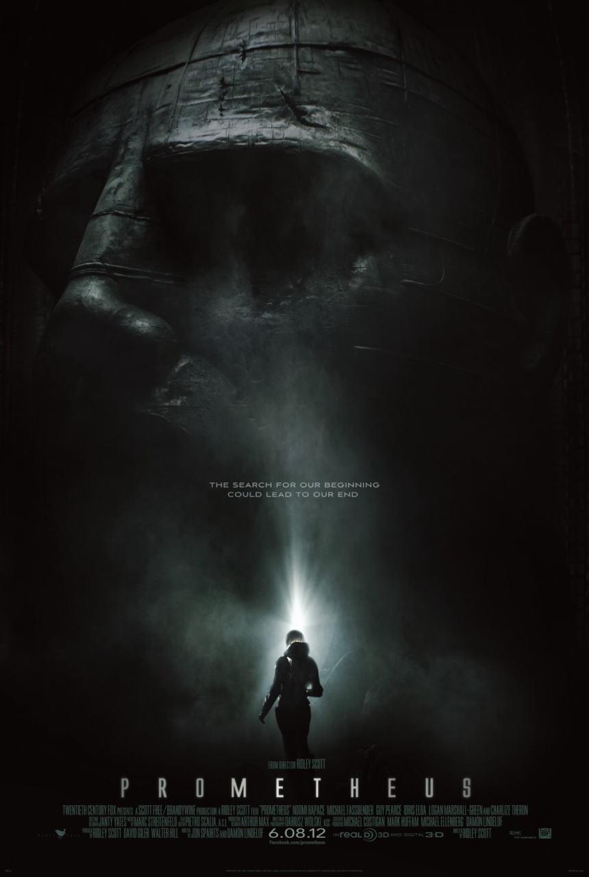 映画『プロメテウス PROMETHEUS』ポスター(1) ▼ポスター画像クリックで拡大します。