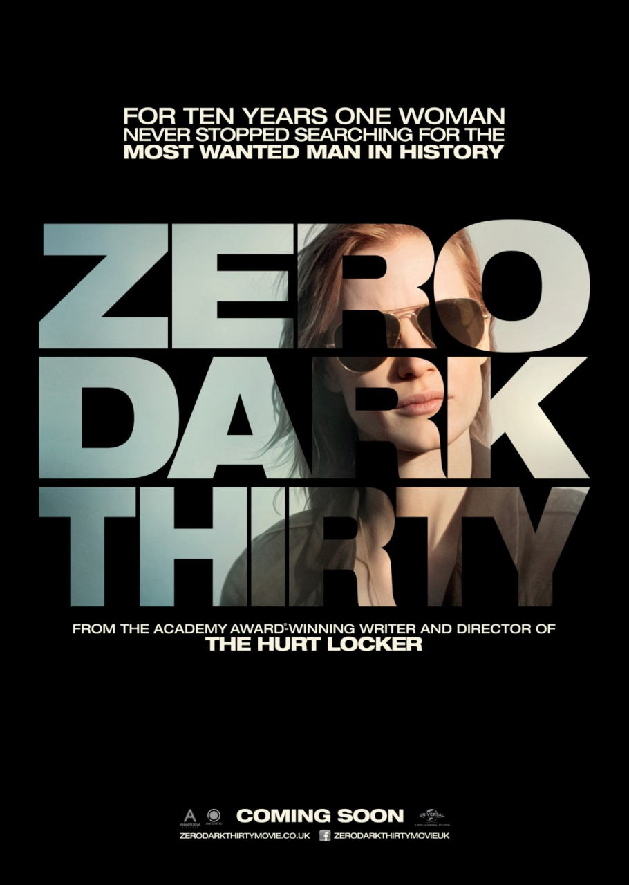 映画『ゼロ・ダーク・サーティ ZERO DARK THIRTY』ポスター(4)▼ポスター画像クリックで拡大します。