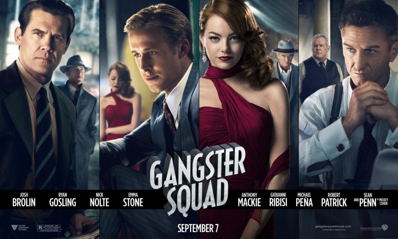 映画『L.A. ギャング ストーリー (2012) GANGSTER SQUAD』ポスター(9) ▼ポスター画像クリックで拡大します。