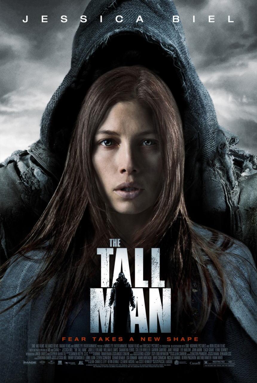 映画『トールマン THE TALL MAN』ポスター(1)▼ポスター画像クリックで拡大します。