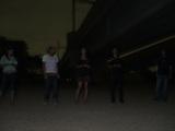 真っ暗の中スタンバイ