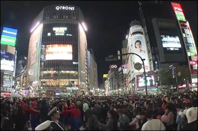 181101-ハロウィン2018渋谷006