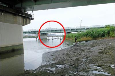 170720-ハゼ釣り2017_荒川新四ツ木橋001