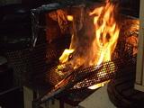 地鶏の炭火焼�