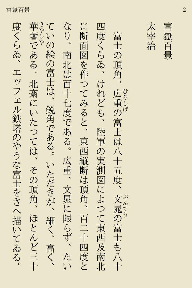 太宰 治 短編 小説 百 景