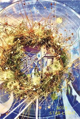 林のりこリース展2019DM