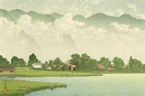 信州木崎の湖