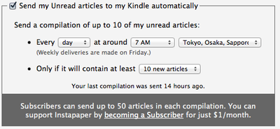 Manage my Kindle settings