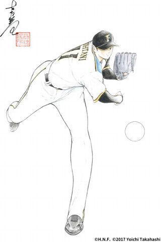 【画像あり】キャプテン翼の作者が大谷翔平を描いた結果ww