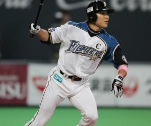 田中賢介さん  2年間  277試合  198安打  6本塁打  119打点