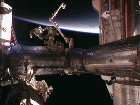 capture NASA TV_State of the docking