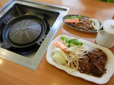 肉がきたのに鍋が熱くなってないっ