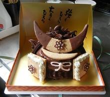 伊達政宗兜ケーキ