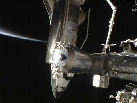 NASA TV_State of the docking