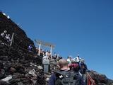 富士頂上鳥居