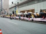 東京マラソン ジェンガ