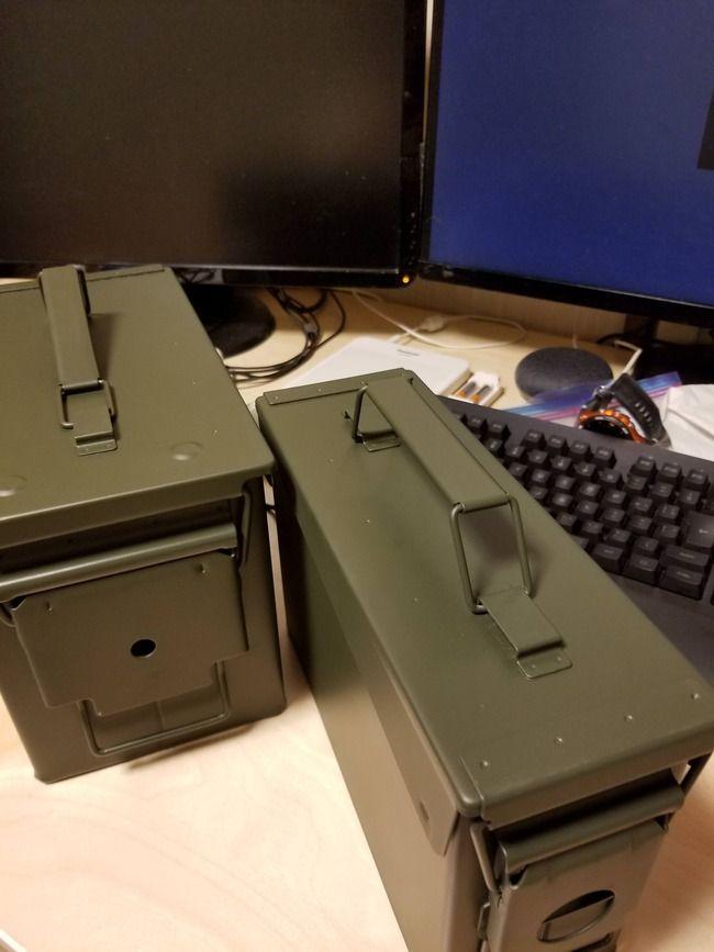 【朗報】ワイ、コストコの弾薬箱を買う