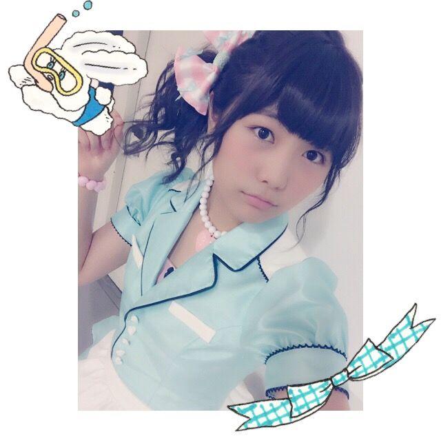 AKB48大島涼花、大和田南那、横島亜衿の3人でプールに行く!!