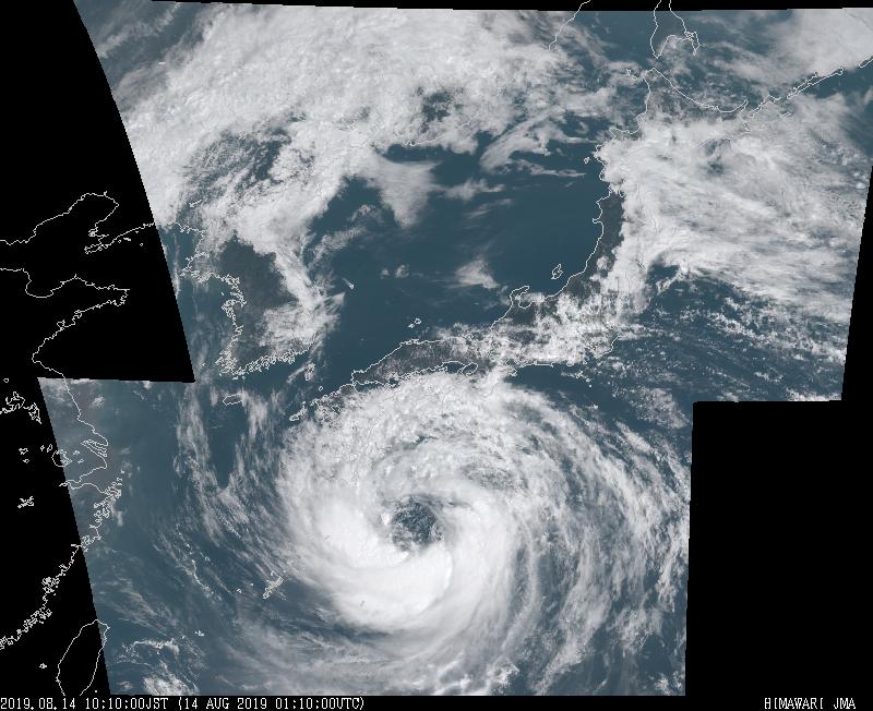 【悲報】大型台風さん、ここにきてパワーアップ中www(画像あり)